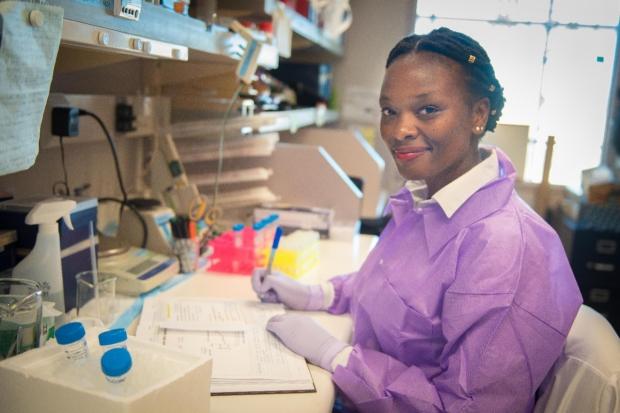 TIL Postdoctoral Scholar Dr. Berenice Mbiribindi